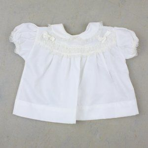 Vintage 50s Baby Dress Outfit Ruffles